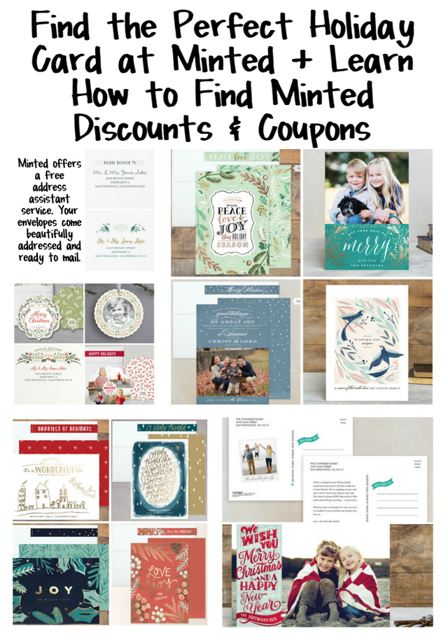 Find the Perfect Holiday Card at Minted + Learn How to Find Minted ... f37dddbcc