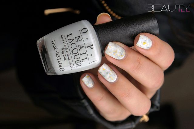 Stone Marble Nail Art Superrr Easy Smoosh Attack Beautyill