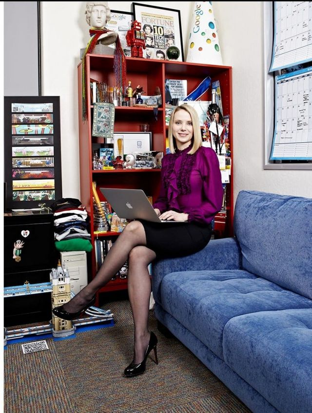 Of Most Powerful Women Worldwide And At Age 37 She Was Appointed As The CEO Yahoo Which Made Her 1 20 Who Led A Fortune 500 Company