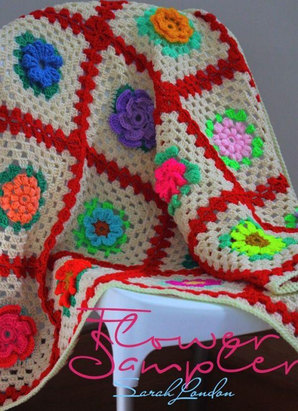 20 Fresh New Crochet Flower Patterns Crochet Concupiscence
