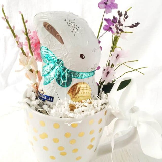 Simple diy easter mug gift ghiradellieaster dear crissy bloglovin i love the easter season not only is it a special holiday observed by our family but its also a time to reconnect with friends and family negle Gallery