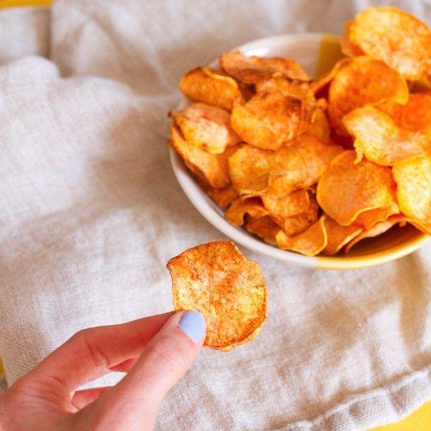 Food Dehydrator Sweet Potato Chips Recipe