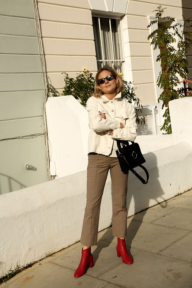 89ed044238b8 At Paris fashion week, there were more than a few citings of the pale pink  Celine cords but for me, these Isabel Marant rose-coloured babies are  slightly ...
