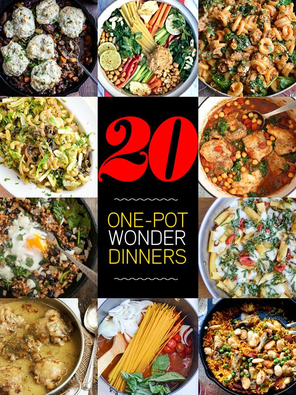 20 one pot wonder meals they re what s for dinner for One dish wonders recipes