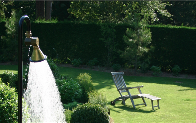 10 Easy Pieces Instant Outdoor Showers Just Add Garden Hose