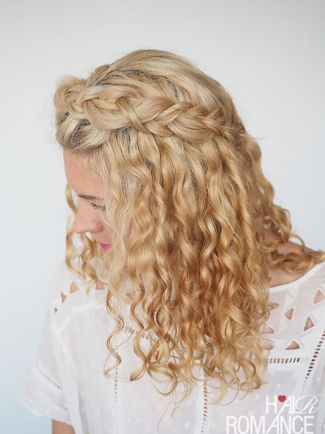 30 Curly Hairstyles In 30 Days Day 2 Hair Romance