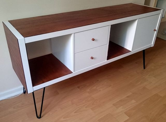 Credenza Metod Ikea : Kallax grows up to be a glamorous credenza ikea hackers bloglovin