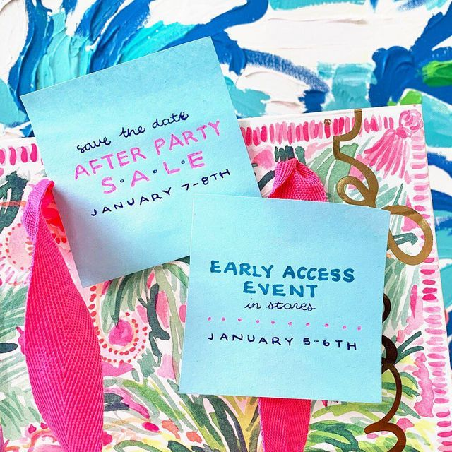8d3d3dfb8d3356 When Is The Lilly Pulitzer After Party Sale? January 2019 Dates ...