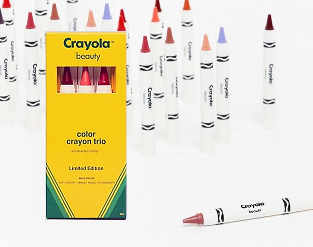 Beauty New Makeup Line By Crayola YES CRAYONS