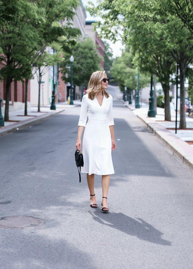 Classic Ivory Dress | MEMORANDUM | Bloglovin\'