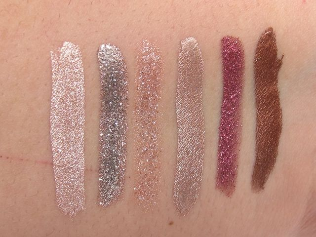 Stila Eye For Elegance Liquid Eye Shadow Set Review & Swatches ...