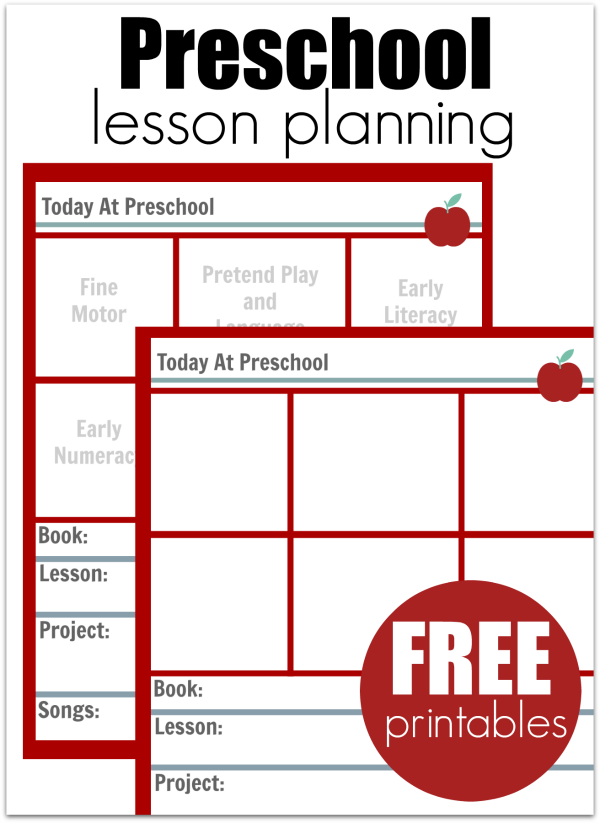 Canny image with free printable preschool lesson plans