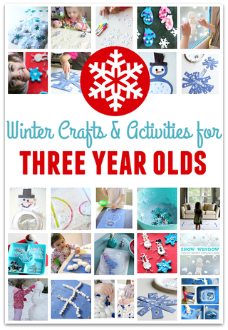 22 winter crafts for three year olds no time for flash for Crafts for 8 10 year olds