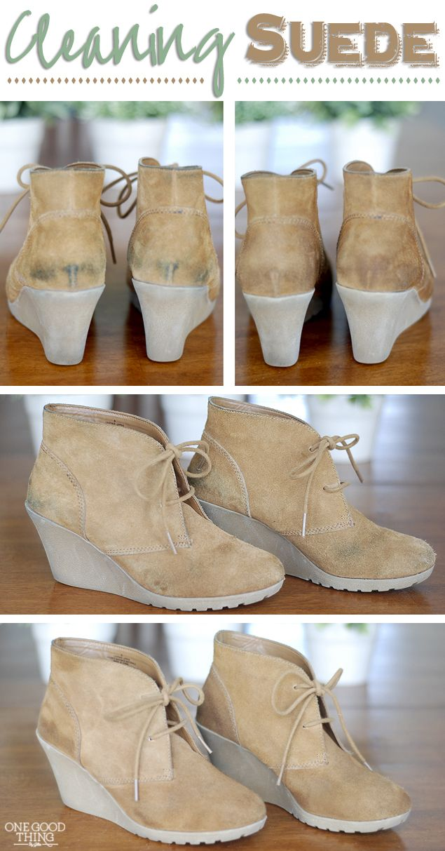 How To Clean Suede One Good Thing By Jillee Bloglovin