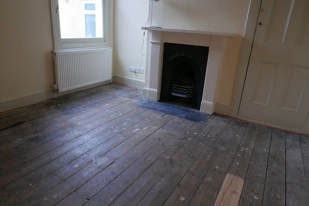 Restoring Old Wooden Floors In A Victorian House Poppy
