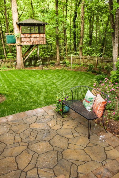 Backyard Landscaping and Patio Reveal | Pretty Handy Girl | Bloglovin\'
