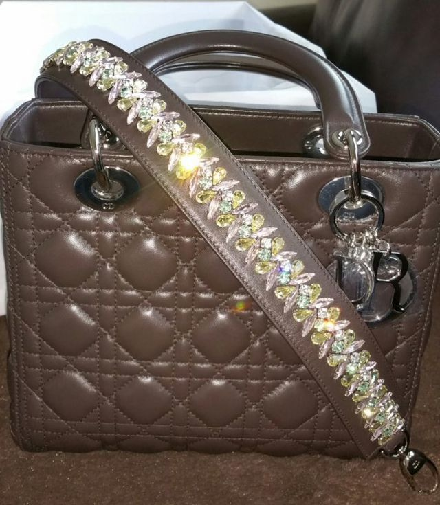 0efb1e289f61 Luxurylove25 is off to a rousing good start in Dior with her first bag from  the brand: a yummy chocolate Lady Dior that she shared with us right out of  the ...