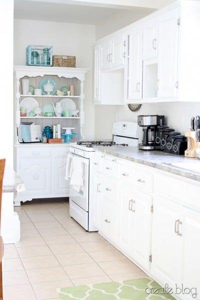 Kitchen renovation updating knotty pine cabinets remodelaholic bloglovin - Knotty pine cabinets makeover ...