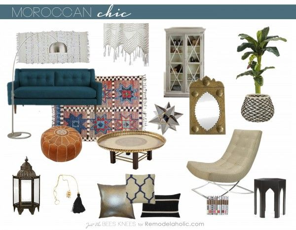 Moroccan Chic Moroccan Style With A Modern Twist
