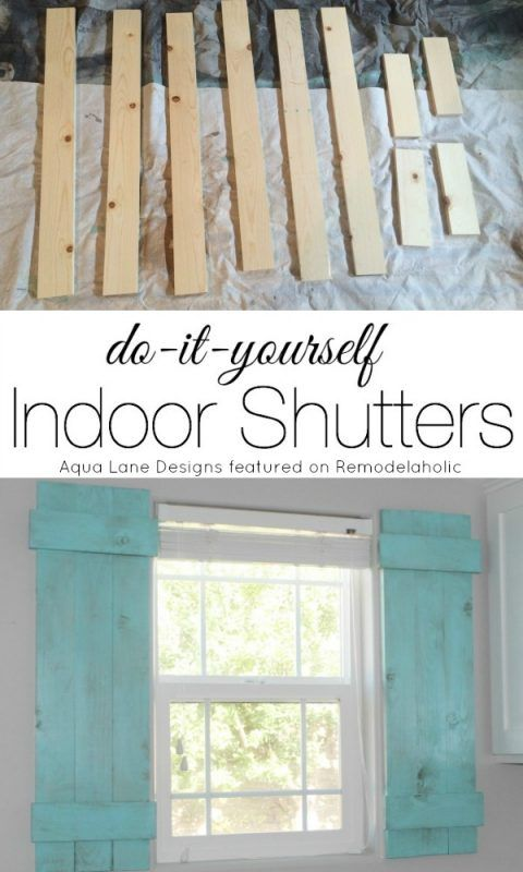 Diy interior window shutters for under 20 remodelaholic how to build interior window shutters by markay of aqua lane designs solutioingenieria Choice Image