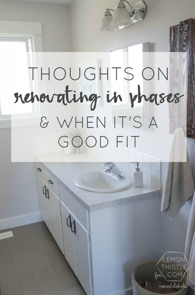 Diy bathroom remodel on a budget and thoughts on renovating in phases remodelaholic bloglovin - Diy bathroom renovations on a budget ...