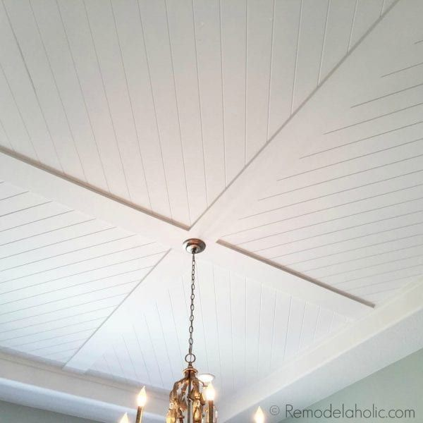 Friday favorites all about the simple details for Faux wood ceiling planks