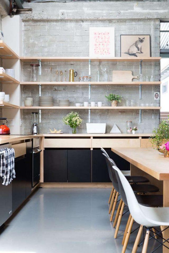 Kitchen Of The Week Epoch Films Friendly Industrial Loft