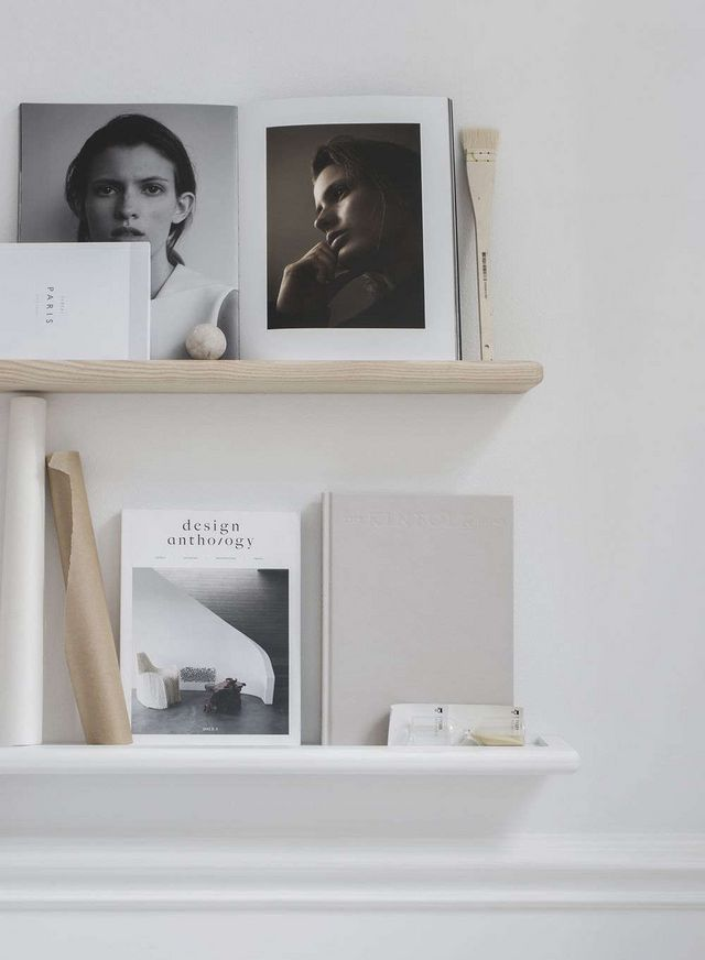 Above The Ash Magazine Rack Is Intended To Hold Paintings Magazines Books Or Photographs And Comes In White 1090 SEK 127 USD For 90cm