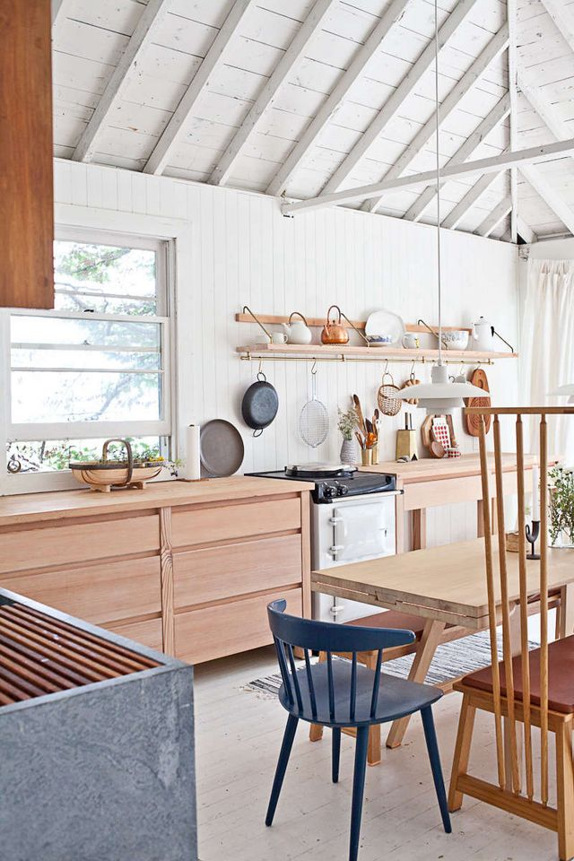 Steal This Look A Scandi Style Kitchen In A Canadian Cabin Remodelista Sourcebook For The