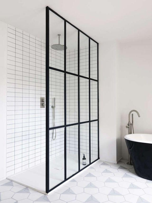 Bathroom Of The Week Steel Framed Shower Doors In A
