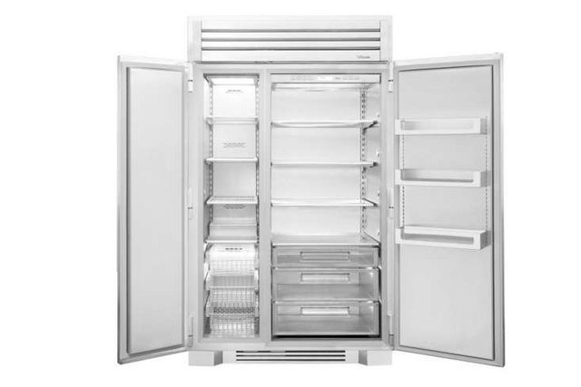 Above The Interior Of 48 Inch Refrigerator