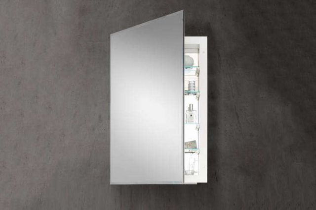 10 Easy Pieces Inset Mirrored Medicine Cabinets