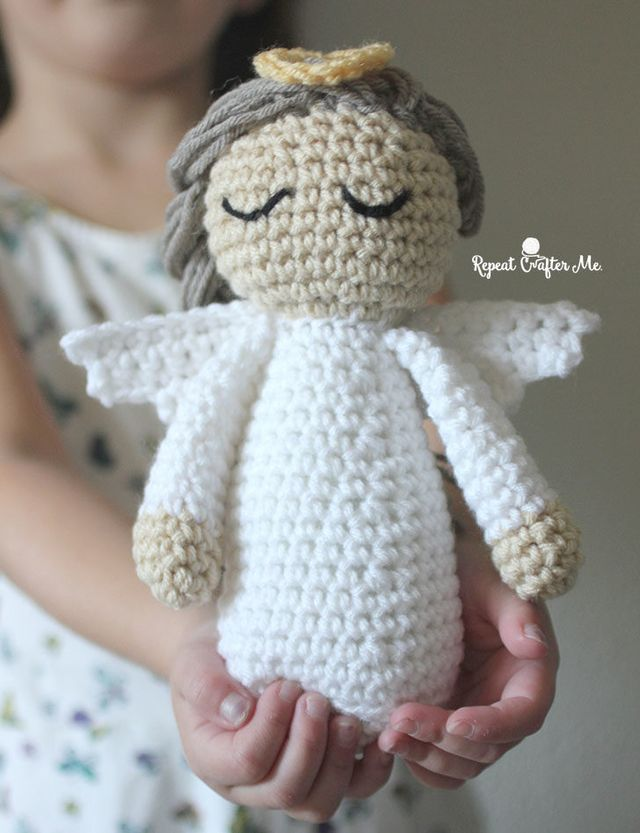 Angelo Amigurumi Tutorial Natale - Angel Crochet Christmas ... | 833x640