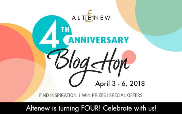 Altenew's 4th Anniversary Blog Hop Day 1 + Giveaway | Simon