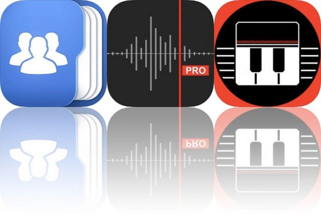 Today's Apps Gone Free: Top Contacts, Awesome Voice Recorder