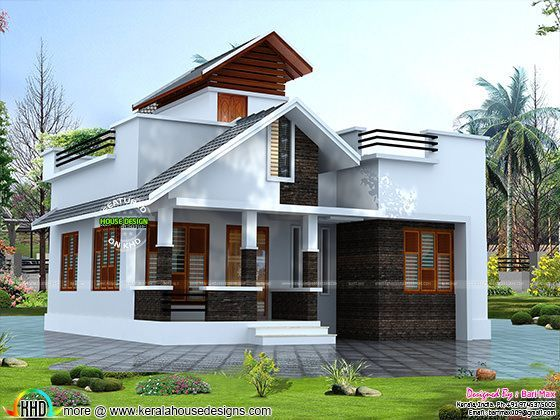 Rs 12 lakh house architecture | Kerala home design ...