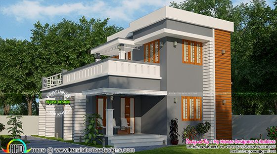 Simple Low Budget 3 Bedroom House Kerala Home Design