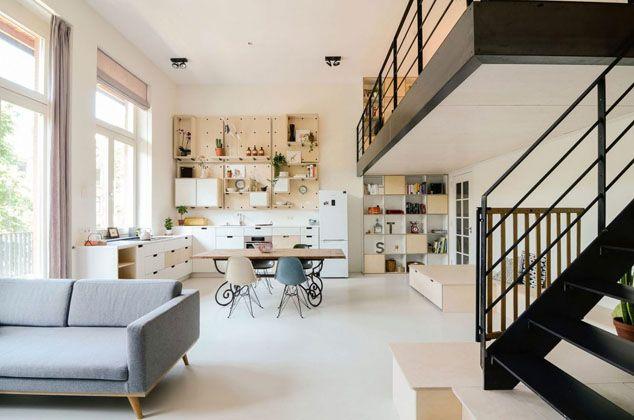 Miércoles de arquitectura: apartamento en Amsterdam | De lunares y ...