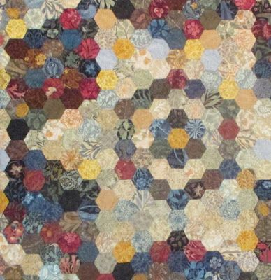 Epp Star Quilt Finished Barbara Brackman S Material Culture