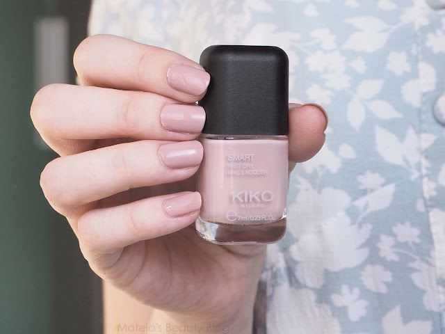 Kiko Smart Nail Lacquer 129   Mateja\'s Beauty Blog   Bloglovin\'