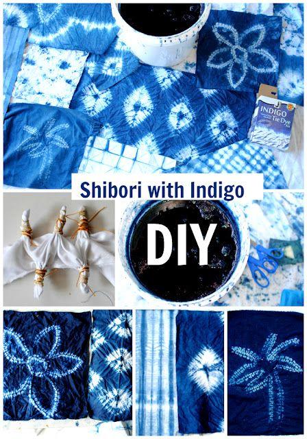 DIY: Nui Shibori with Indigo | Trash To Couture | Bloglovin'