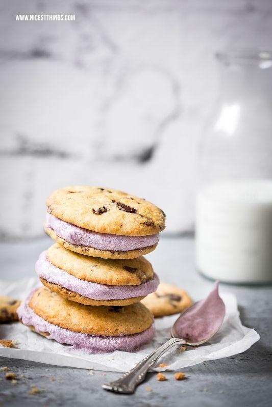 Meine liebsten Chocolate Chip Cookies als Ice Cream Sandwiches ...