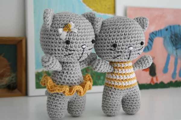 Amigurumi Free Patterns Blog : Amigurumi Small Cats-Free Pattern Amigurumi Free ...