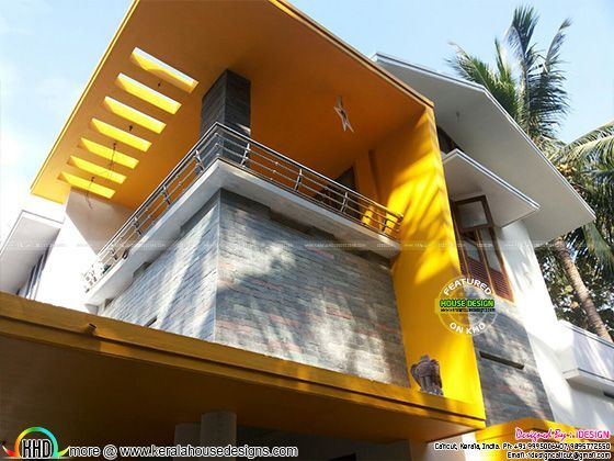 10 Lakhs Costed Renovated House Kerala Home Design