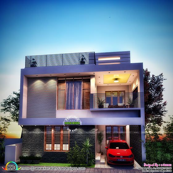 1600 sq ft house in meters. 4 bedroom contemporary 1600 sq ft  Kerala home design Bloglovin