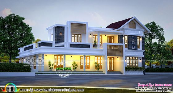 future home design. Mix Roof Home By Future Homes From Kollam  Kerala Design