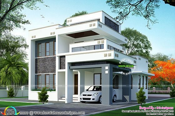 1800 sq ft floor 3 bedroom home with floor plan kerala for 1800 sq ft indian house plans