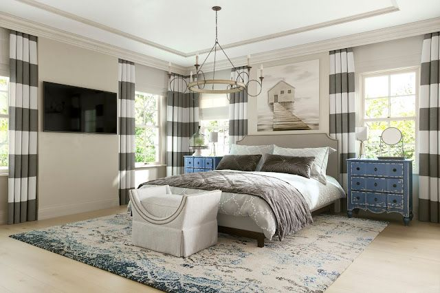 Giveaway And My Coastal Bedroom Reveal With Property ...