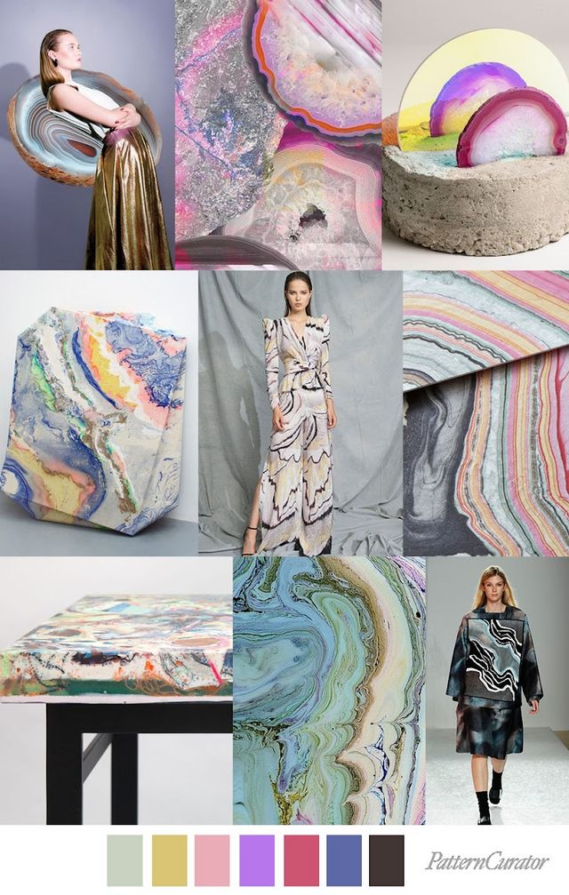 TREND | PATTERN CURATOR - MINERAL ART . SS 2020 | FASHION ...