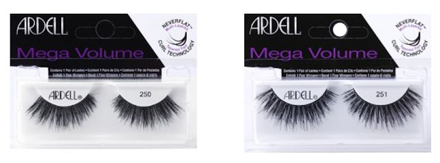 """018f1f11c32 Ardell Mega Volume Lashes - $8.49 - features feather light lash fibers and  a flexible band to add curves and inches to your lash line. The patented """" Never ..."""